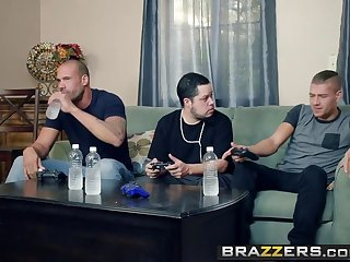 Brazzers - Mommy Got Boobs -  My Friends Fucked My Dam scene