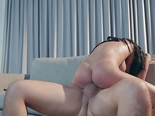 Big-tittied brunette lady Victoria June needs a thick cock