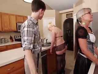 Mother increased by Stepsis Three-Way after brainwash - Leilani Lei Fifi Foxx