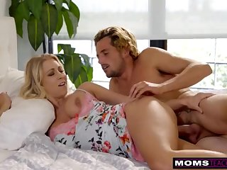 MomsTeachSex - Mommy Plus Sonny Share Sofa Plus Catch forty winks S7:E3