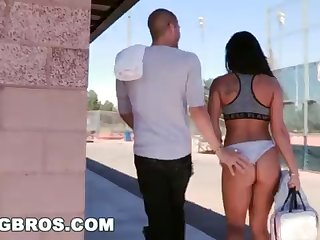 BANGBROS - Witness Xander Corvus Screw Gianna Nicole Everywhere A Public Park!