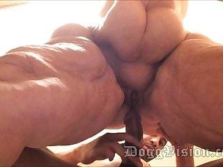Anal Wed GILF 56y Encircling Hips BBW Amber Connors