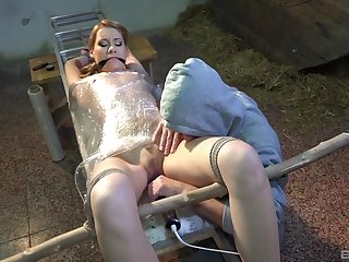 Non-professional Aika May gets tied up and tortured for your pleasure