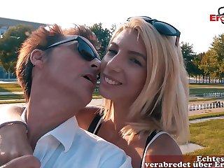 German skinny college teen gonzo dense date pov