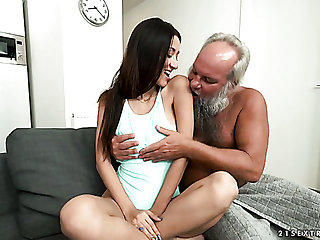 Darcia Lee gets properly used by bearded venerable haired old man