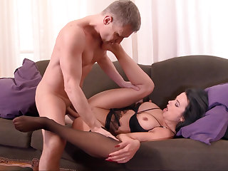 Creampie lose concentration ass